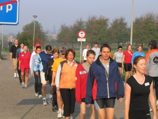 2005 najaar Start to Run